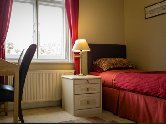 Single En-suite Guest Room at Sandfield Guest House Oxford
