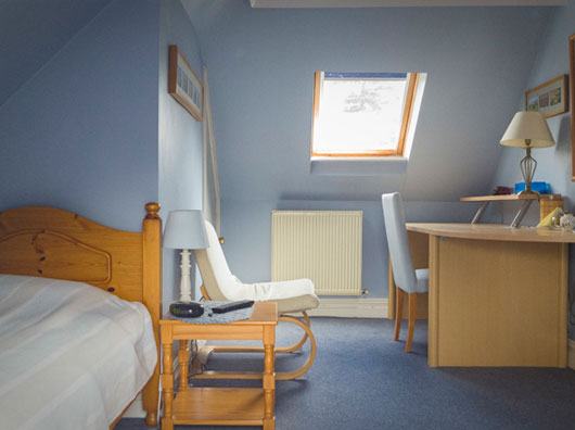 Oxford guest house single room with private bathroom